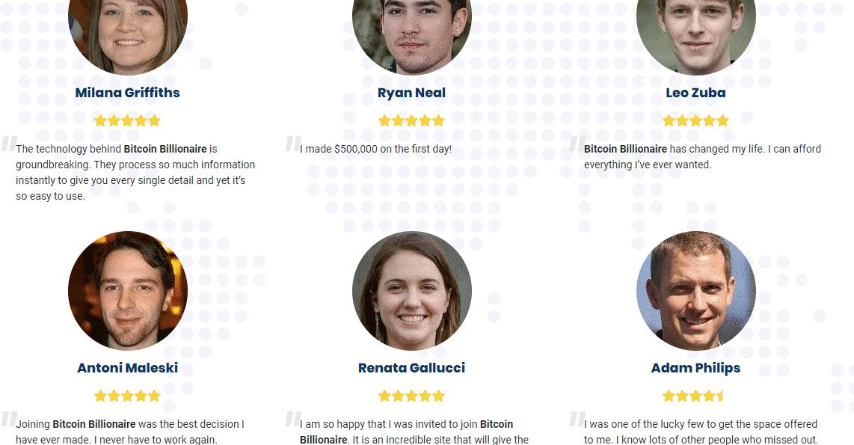 Bitcoin Billionaire Reviews: Customers Reviews