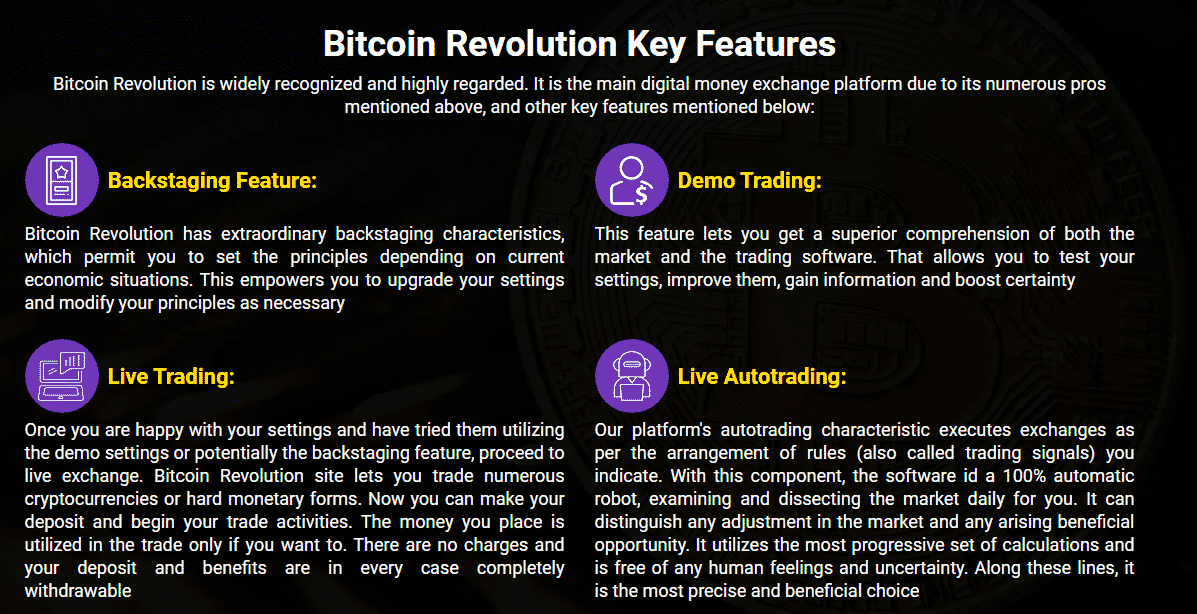 Key Features of Bitcoin Trading Program