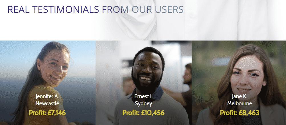 Users Testimonials